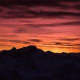 Sonnenaufgang am Pitztaler Gletscher - ©Pitztaler Gletscherbahn