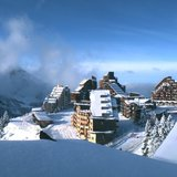 Première neige de 2016 sur les Alpes