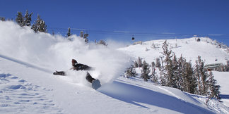 Top snowboarding resort: Mammoth Mountain