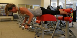 Preseason Ski Training with Grete Eliassen: Back Extension & Dumbbell Row