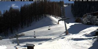 Snowfall in Italy Nov. 16/17, 2014