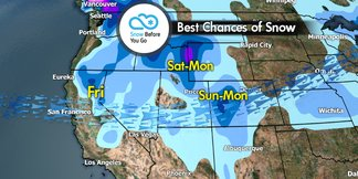 Snow Before You Go: Christmas Comes Early to Western Resorts - ©Meteorologist Chris Tomer