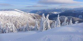 Ozajstná zima na Donovaloch