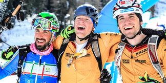 Seppi Rottmoser feiert Weltcup-Sieg bei der Marmotta Trophy - ©DAV Johannes Schmid