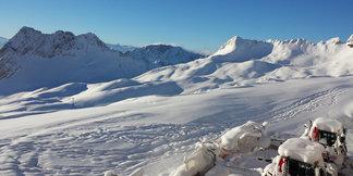 Schneebericht: Etwas Schneefall in den Nordalpen, keine weiße Weihnacht in den Tälern - ©Bayerische Zugspitzbahn