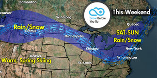 Snow Before You Go: Two Weekend Storms Rolling In