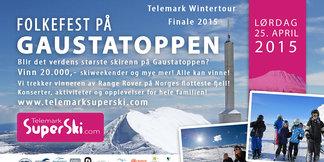 Verdens største skirenn på Gaustatoppen? - ©Verdens største skirenn på Gaustatoppen?