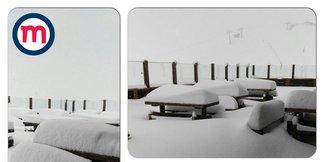 E' tornato l'inverno: tutta la neve di Maggio
