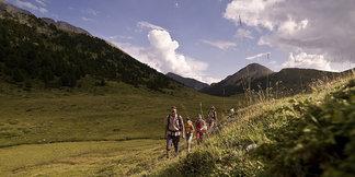 Wanderung in der Moor- und Arvenwaldlandschaft Tamangur - ©Engadin Scuol | Andrea Badrutt