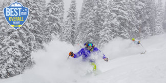 The Visitors' Choice Award for Best Overall Ski Resort of 2015 Goes To...  - ©Zach Mahone