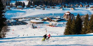 Quelques pistes de ski ouvertes dans le Massif Central, les Vosges et le Jura - ©Station des Rousses