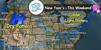 Snow Before You Go: New Year Brings New Life to East - ©Meteorologist Chris Tomer