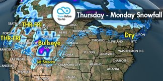 Snow Before You Go: Significant Ski Area Snow Totals for Colorado  - ©Meteorologist Chris Tomer