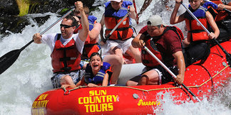 The 7 Top River Rafting Excursions in Ski Country   - ©Sun Country Tours