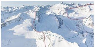 DAV kritisiert Pläne zu riesigem Gletscherskigebiet in Tirol