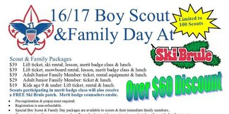 Boy Scout Winter Merit Badge Day - ©http://www.skibrule.com
