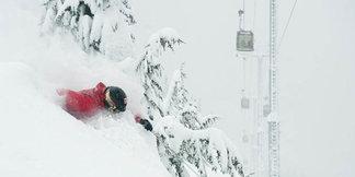 Whistler har fått mest snø i hele verden den siste uken