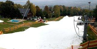 W Czechach już można jeździć na nartach! - ©Monínec