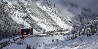 Nahliadnite do tajov výstavby novej lanovky 3S-Eisgratbahn na ľadovci Stubai - ©Skiinfo