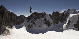 Eine außergewöhnliche Highline am Mont-Blanc-Massiv - ©Bernhard Witz