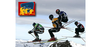 SKI CROSS World Cup in Flaine, France From Tuesday the 15th to wednesday the 16th of January.