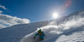 Three Days Skiing on The Great Divide