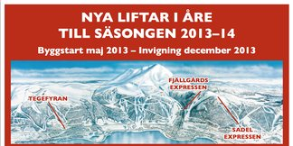 Tre nya stolliftar i Åre - ©SkiStar AB