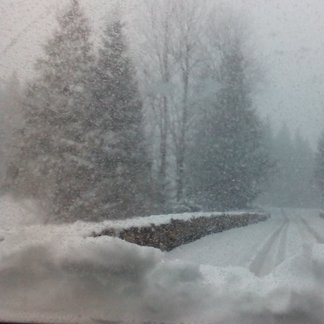 Biely koniec marca