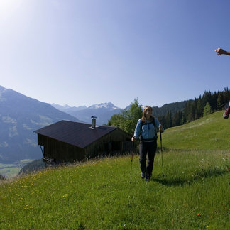 Wanderer im Zillertal
