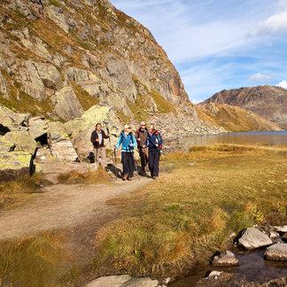 Wanderung in der Region Sedrun - ©Sedrun Disentis Tourismus