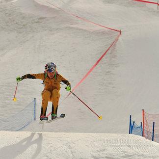 Toni Palzer siegt beim Sprint-Weltcup der Skibergsteiger - ©Willi Seebacher