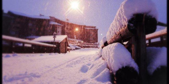 Vinteren er kommet til alpene