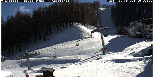 Snowfall in Italy Nov. 16/17, 2014