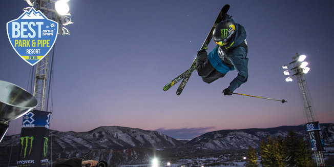 Aspen Snowmass Scores Top Spot for 2015 Park & Pipe - ©Jeremy Swanson