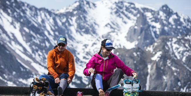 Backcountry Skiing in Rocky Mountain National Park - ©Liam Doran