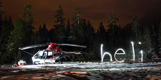 White Wilderness Heli Skiing - ©Tripp Schoff Photography