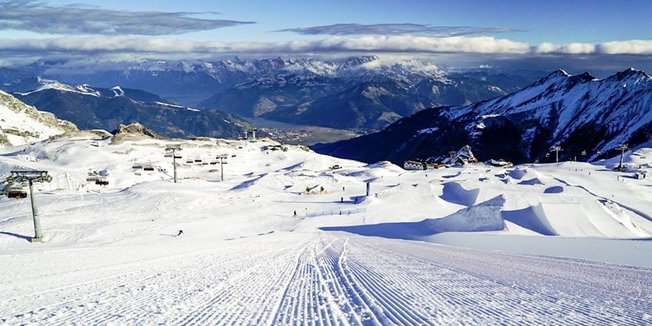 Open ski resorts Dec. 4, 2016 - ©Zell am see-Kaprun