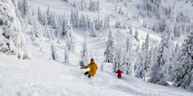 Snow is Falling: #WinterIsComing - ©Whitefish Mountain Resort