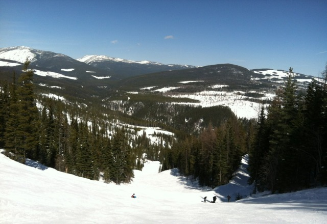 Great spring skiing! Top was hard packed with soft buttery snow closer to the base.