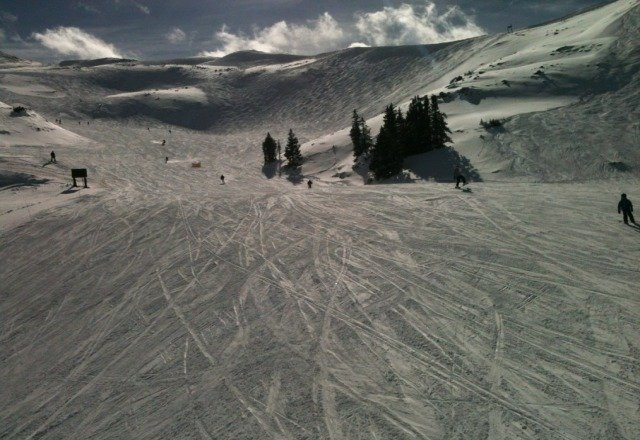 Incredible day on Saturday, not too crowded and fresh stashes everywhere.