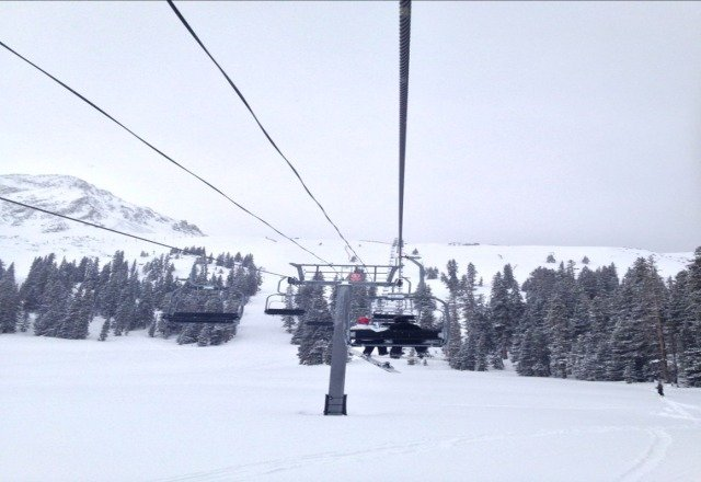 great powder all day. cannot wsit to return on sunday!