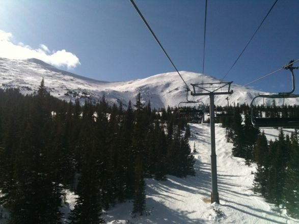 Independence Chair on a sunny April afternoon.