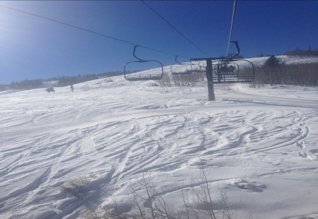 runs open on the west lift, overall conditions good.