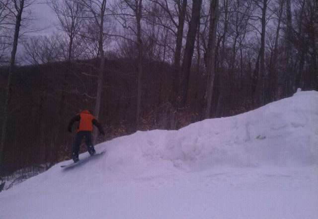 hit the mountain hard all weekend great conditions no lines!!!