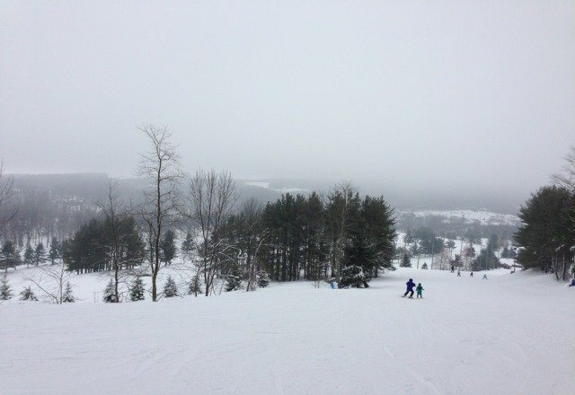 Went on Tuesday and it was pretty good. It was foggy at the top, but they can't help that much. A few trails are still closed, but look like they'll be open soon. The lines were short, the prices are awesome, and the staff is friendly for the most part. Hopefully going back in the next few days.