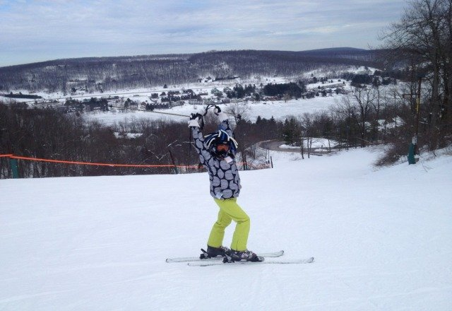 awsome day worth the drive from mercersburg no lines best snow anywhere!