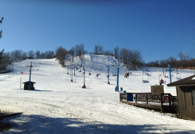 beautiful today...no lines..quad closed for some reason