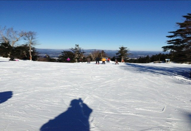 Very cold day but the conditions were great. This was my first visit to Sunapee and I will be going back. Wish they had more of a terrain park.