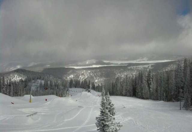 Great day of skiing. Fresh snow and not crowded.