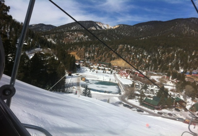 From the lift. u